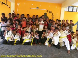 The Great Indian Kung-fu Training Master Prabhakar Reddy India