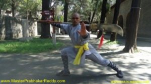 Best Indian Kung-fu Training Master Prabhakar Reddy