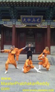 Shaolin Kung-fu Training Monk India