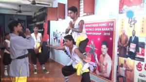Martial arts Expert Indian Shaolin Kung-fu Talent Master Prabhakar Reddy