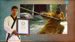 Shaolin Kung-fu Training Monk Shifu Prabhakar Reddy
