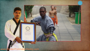 The Great Indian Martial arts Expert Training Teacher Master Prabhakar Reddy