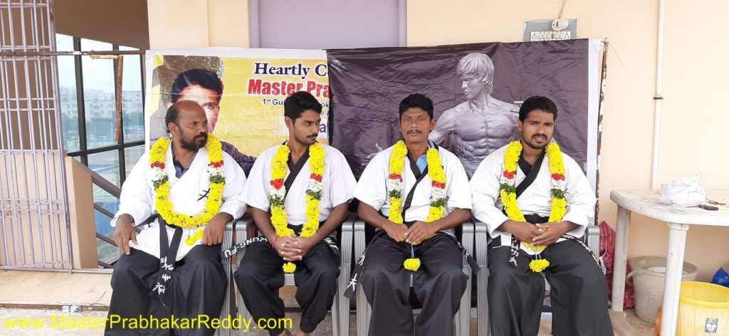 Nellore Karate Black Belt Masters Indian Shaolin Kung-fu