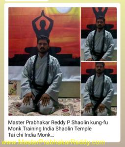 Indisn Kung-fu Warrior Monk Shifu Master Prabhakar Reddy