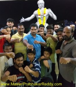 Indian Best Kung-fu Trainig Master Prabhakar Reddy Wushu Guan Camp