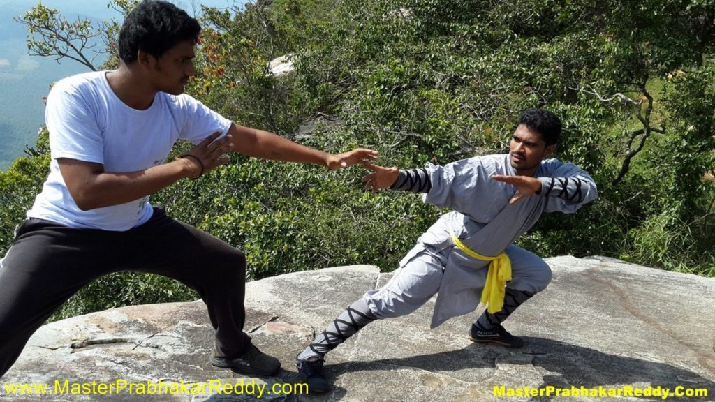 Shaolin Kung-fu Warrior Monk Shifu Prabhakar Reddy