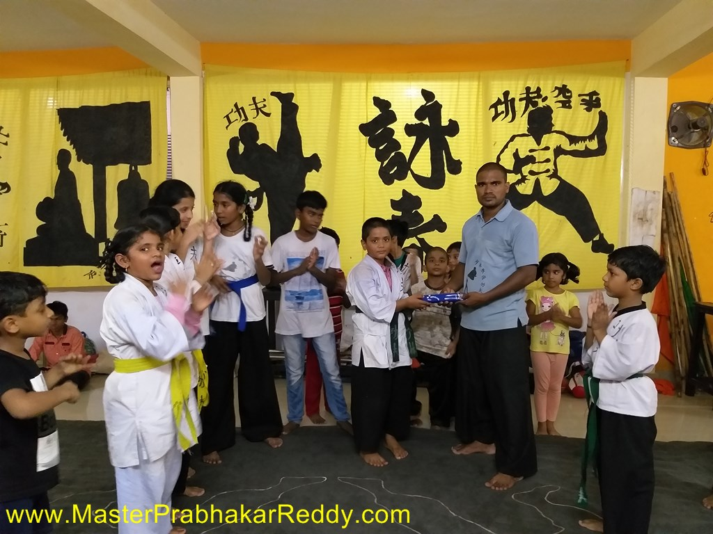 Kids Karate Nellore Chandra Kung-fu Training