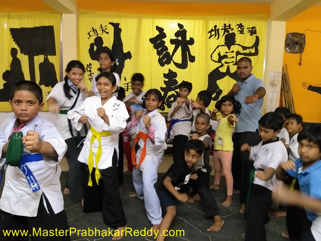 The Shaolin Kung-fu Kids Martial arts