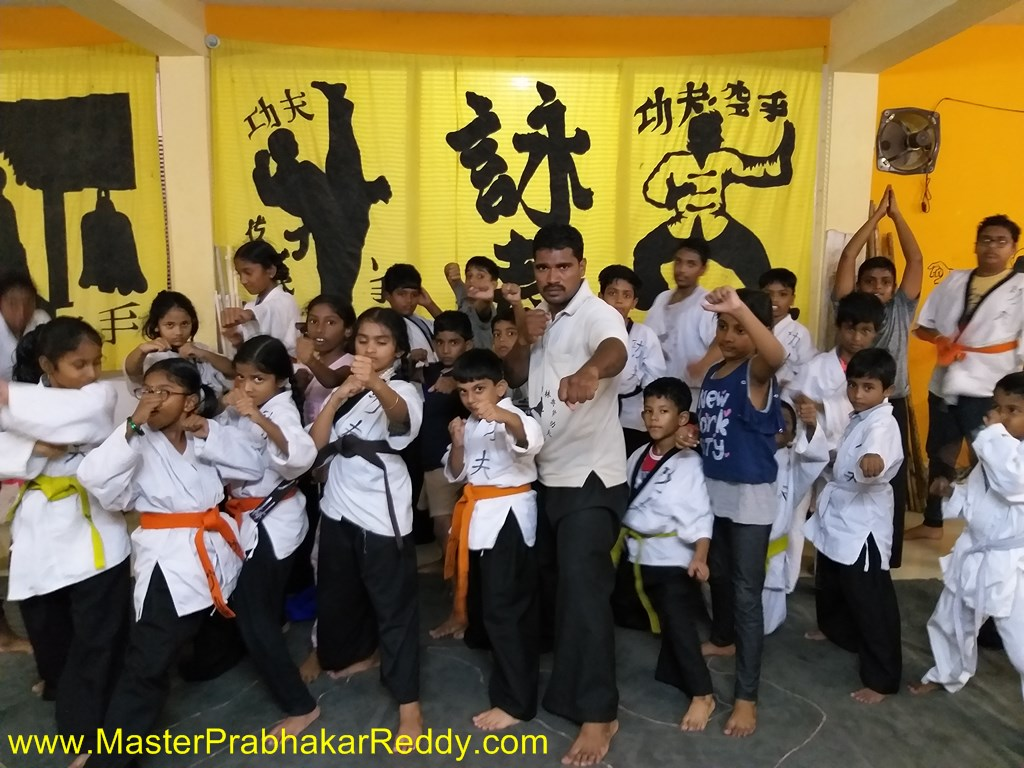Indian Children Kung-fu