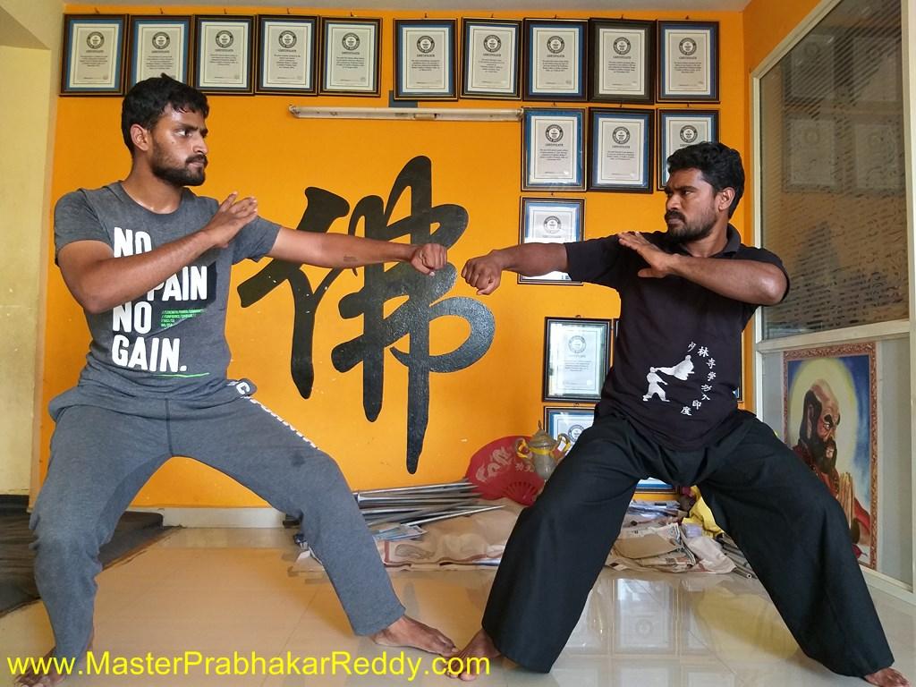 Shaolin Kung-fu Fight Master Prabhakar Reddy