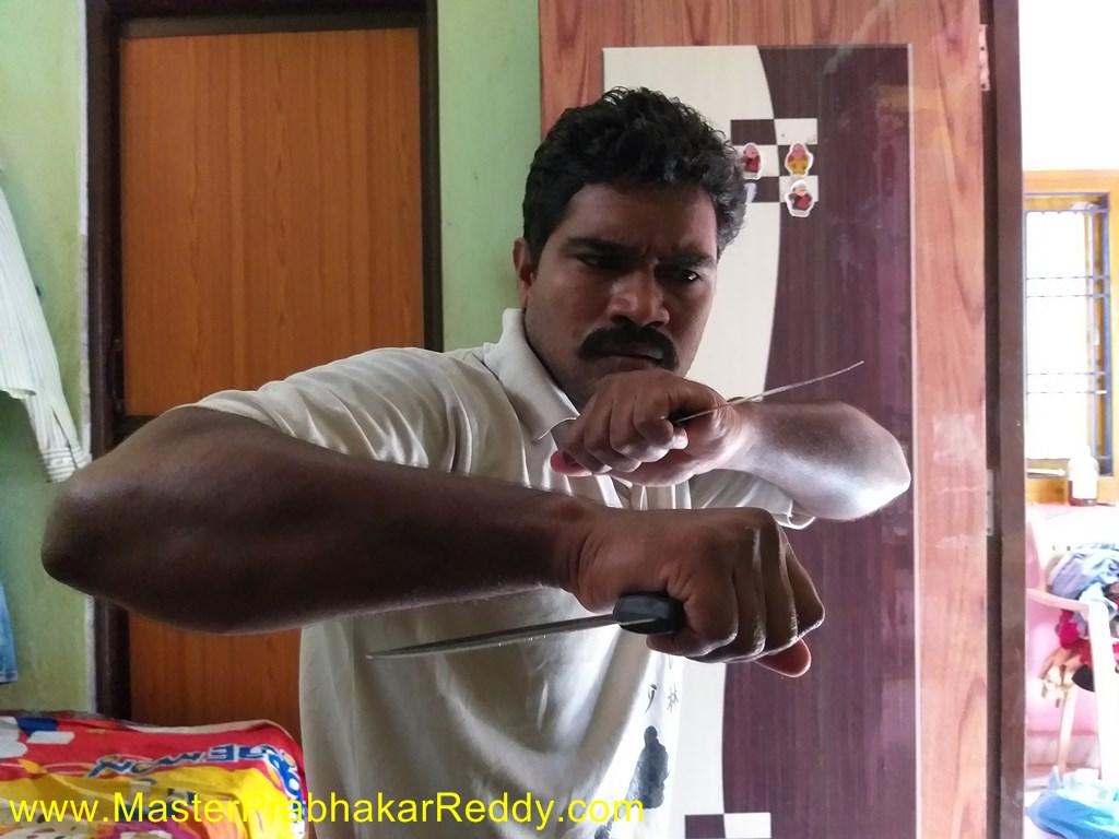 kung fu weapons master prabhakar reddy