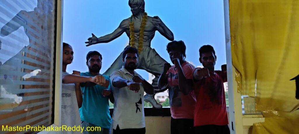 Nellore Kung-fu Master Prabhakar Reddy Indian Wushu