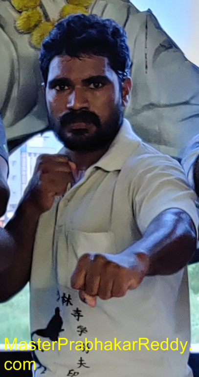 Martial arts Indian Kung-fu Prabhakar Reddy