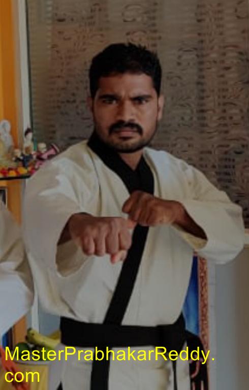Karate Master Prabhakar Reddy Nellore